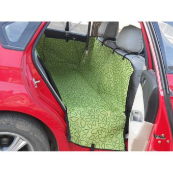 Pet Car Back Seat Cover Hammock Blanket Protector Cradle CushionMat (Green) Price Philippines