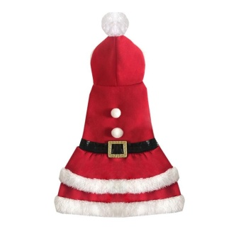 Pet Clothes Christmas Dress - Red XL - intl - picture 2