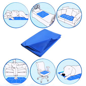 Pet Dog Cat Summer Cooling Bed Ice Pad Cushion Mat XL - Intl