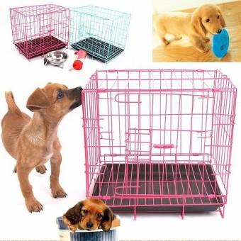 Pet metal cage Playpen Blue - intl - 2