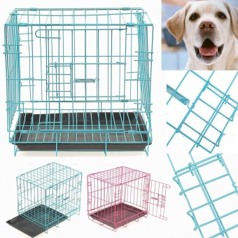 Pet metal cage Playpen Blue - intl