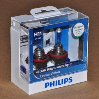 Philips Crystal Vision H11 headlight replacement bulbs Price Philippines