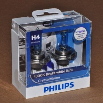 Philips Crystal Vision H4 headlight replacement bulb