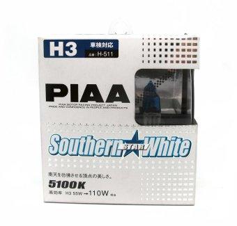 PIAA H-612 H3 4250K Arrow Star White Set of 2