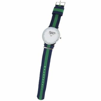 Pic Watch Amazing Grace Nylon Strap Couple Watch - 4