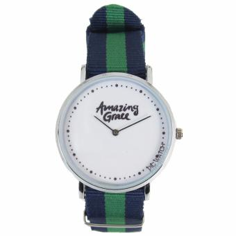 Pic Watch Amazing Grace Nylon Strap Couple Watch - 2
