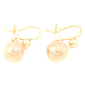 Piedra Jewelry 18k plating Danging earrings (gold) Price Philippines