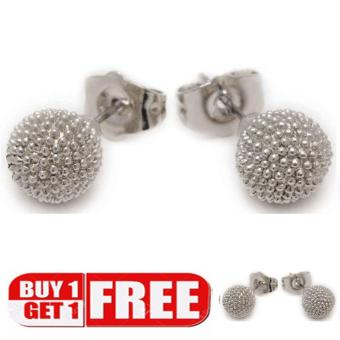 piedras everyday jewelry Buy 0ne take one 18k plated stud earring Price Philippines