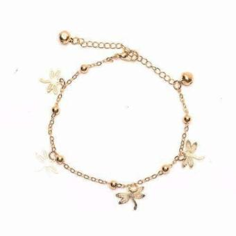 piedras jewelry charmed anklet 18k Gold plated Price Philippines