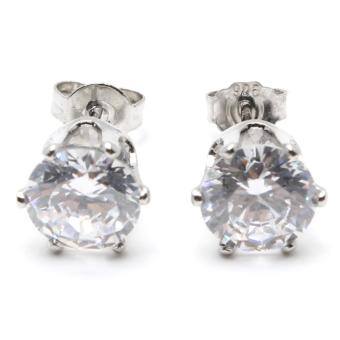Piedras jewelry cubic ziconia earrings in 18k micron plating buy 1take 1 - 2