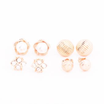 Piedras Paug24 Earrings (Gold)
