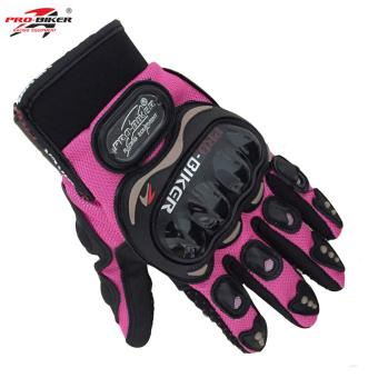 Pink S Men Women Motorcycle Gloves Moto Mujer Luva Motoqueiro moto Racing Gloves Motorbike Bicycle cycling glove Price Philippines