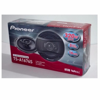 Pioneer TS-A1676S 3-Way Speaker (Black)