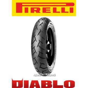 Pirelli 90/90-14 Diablo Scooter 46S Tubeless REAR Tire for Honda Click 125, 150, Beat Fi