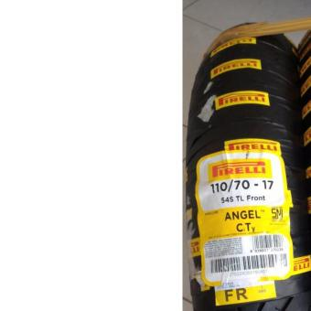Pirelli Angel CiTy Honda CBR150R/Yamaha TFX 150 2xTires Set (Front: 110/70-17 54S TL Rear: 130/70-17 62S TL) - 4