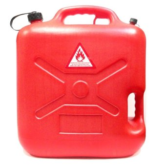 Plastic Fuel Tank 2020A - 20 Liter Capacity (Red) - picture 2