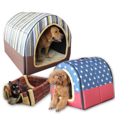 Philippines Pomeranian Four Seasons Golden Cat Summer Kennel Ice