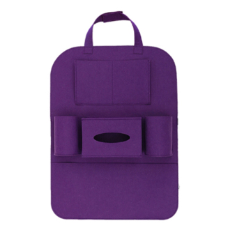 Portable Car Backseat Organizer (Violet)