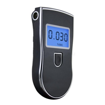 Portable Digital Breath Alcohol Tester Breathalyser AnalyzerDetector - intl - 4