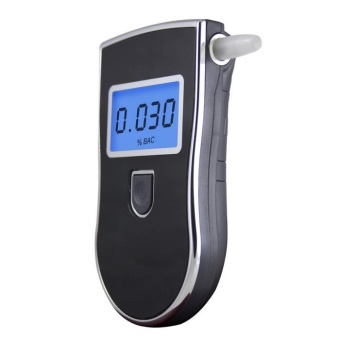 Portable Digital Breath Alcohol Tester Breathalyser AnalyzerDetector - intl - 3