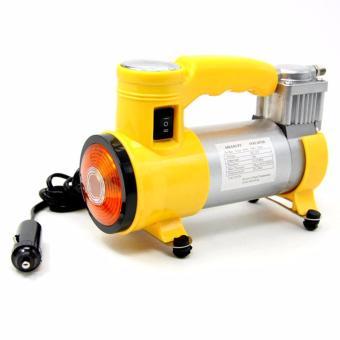 Portable Heavy Duty Car Air Compressor (Yellow)