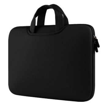 Portable Notebook Briefcase Handbag Protective Sleeve Pouch Case Bag for Apple MacBook Pro Air Universal 15.4 inch Laptop PC Ultrabooks