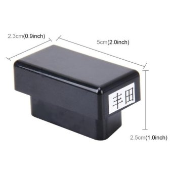 Portable OBD Canbus Speed Lock Car Safety Door Lock and Unlock OBD Module For Toyota - intl - 2