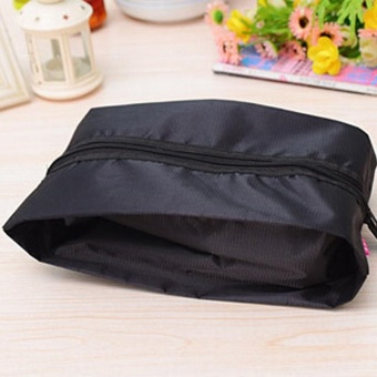 Portable Shoe Pouch Travel Shoes Bags Waterproof Women ToteToiletries Laundry Storage Shoe Bag - intl