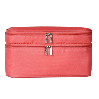 Portable Toiletry Bag Cosmetic Pouch (watermelon Red) (Intl) - picture 2