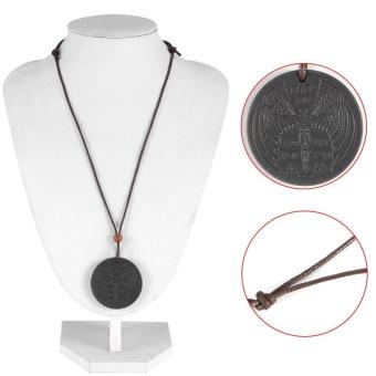 Powerful Scalar Pendant Pain Relief Lava Necklace