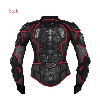 Practical High Quality Motorcycle Body Protection Racing Full Body Armor Spine Chest Protective Jacket Gear - intl