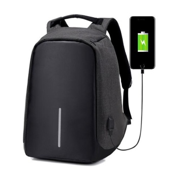 Premium Fashion New Backpack Women Anti-theft Multifunction USB Charging Men Rucksack 14 Inch Laptop Computer Backpack Male Mochila - intl