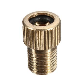 Presta Valve To Schrader Pump Adaptor Tyre Valve Converter Brass - picture 2