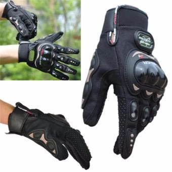 Pro-Biker Motorcycle Gloves MOTO Racing gloves Knight Urban RidersLuvas Motocross Motorbike Gloves guantes L (Black) - 2