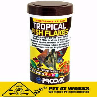 Prodac Tropical Fish Flakes (250ml) for Pets and Fish Food