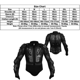Professional Motocross Off-Road Protector Motorcycle Full BodyArmor Jacket Protective Gear Clothing - intl - 4