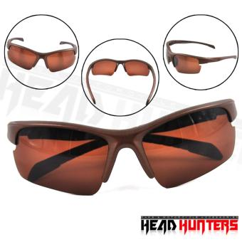 Protech Fashionable Motorcycle Riders Unisex Sunglasses - SunProtector Shades (Brown) Price Philippines