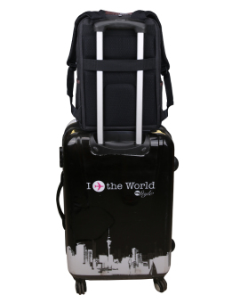 PT Multifunctional Laptop Bag Travel Business Leisure Backpack(Black) - 2