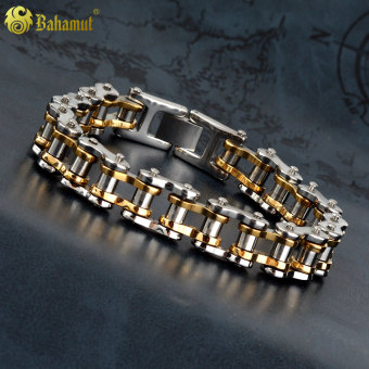 Punk New style motorcycle chain bracelet