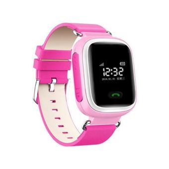 Q60 Smart Watch SOS Call Anti-lost Children for Android iOS iPhone Pink - intl