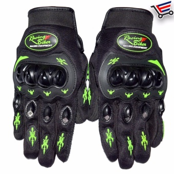 Racing Bike Motorcycle Sports Racing Gloves Full Finger - XL(Black) Price Philippines