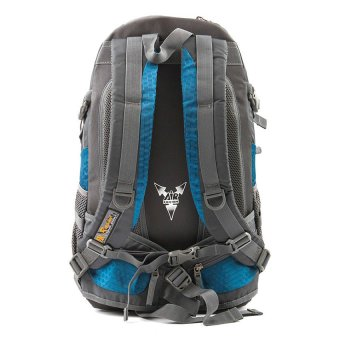 Racini 40-371 Mountaineering Backpack (Dark Gray/Blue) - 2