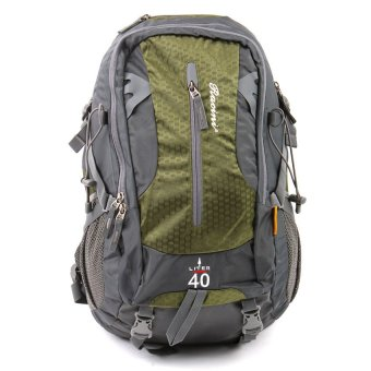 Racini 40-372 Mountaineering Backpack (Dark Gray/Mold Green)