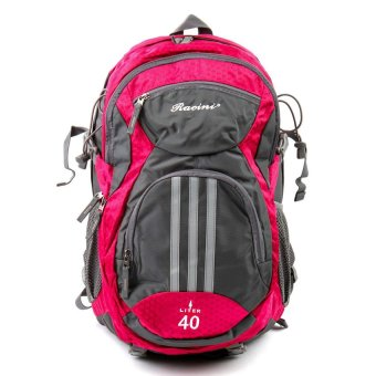 Racini 40-373 Mountaineering Backpack (Dark Gray/ Red Violet) Price Philippines