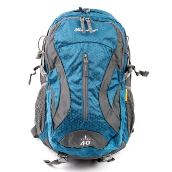 Racini 40-374 Mountaineering Backpack (Dark Gray/Blue)