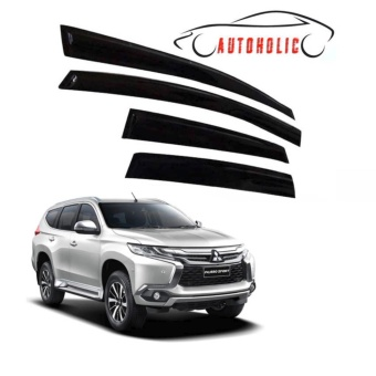 Rain Guard Visor for Mitsubishi Montero Sport 2016 to 2017