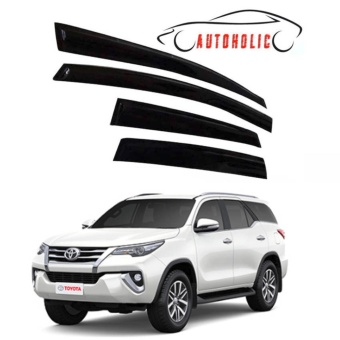 Rain Guard Visor for Toyota Fortuner 2016 to 2017