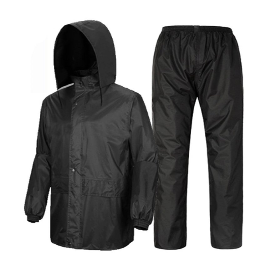 Raincoat and Pants for Adult (Night Black) | Lazada PH