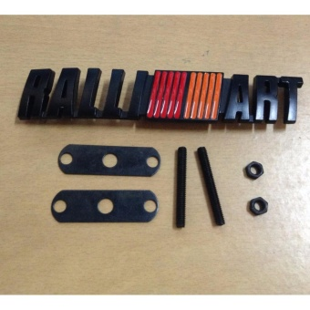 Ralliart (Black) Grill Type Emblem