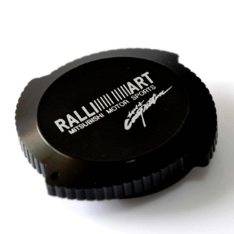 Ralliart Oil Cap for Mitsubishi Cars (Black)